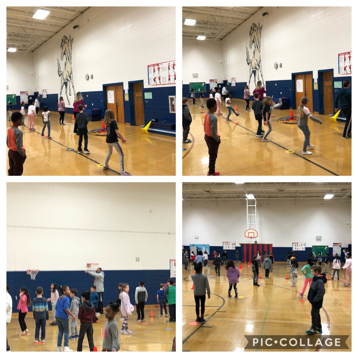 Third graders are rockin the Cupid Shuffle @PES_Mustangs