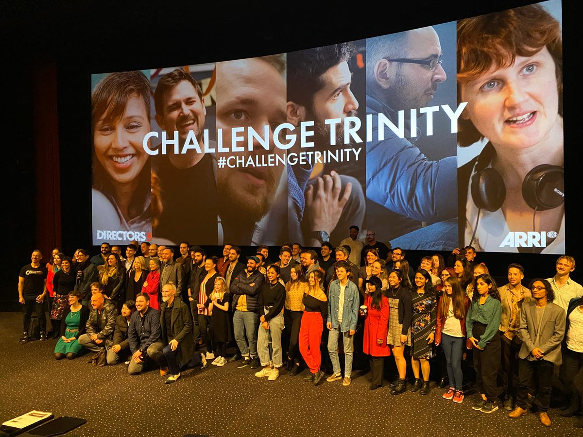 Markus Meedt's short film 'Bad News' made its debut on the big screen at Leicester square's Vue!   Made for @ARRIChannel #ChallengeTRINITY 2020, a one-shot film challenge G&E made sure to go and show some support and we're now buzzing for it's run in the festival circuit!pic.twitter.com/xCQNcTVEVd