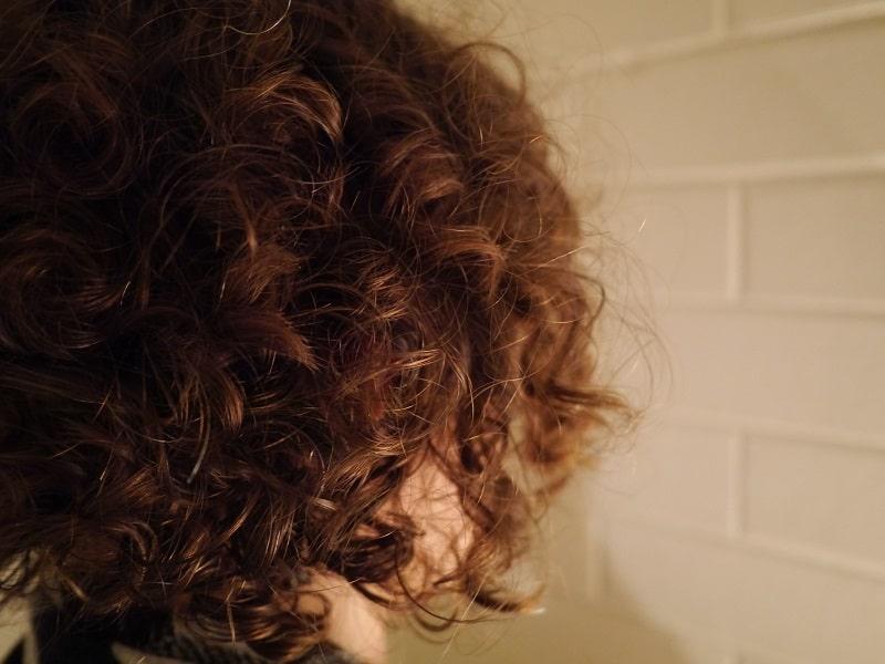 natron i håret