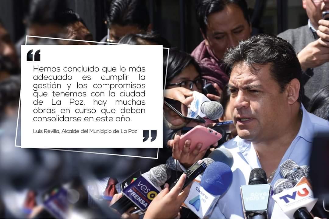 El Dr. Luis Revilla Herrero anunció, en una entrevista con Radio Panamericana, que priorizará la gestión municipal y que NO será candidato a la Vicepresidencia del país, pese a que su nombre fue propuesto para ello. #SoberaniayLibertad  #SolOruro  #LuisRevilla https://t.co/Kg37oD45jy