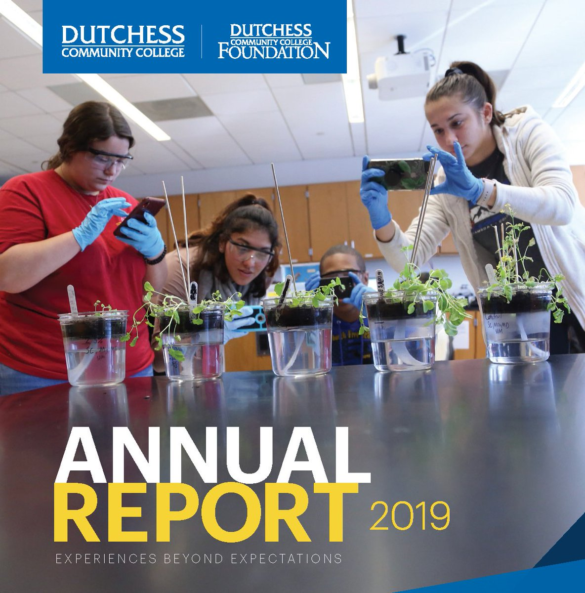 Check out the DCC and @Dccfalumni 2019 annual report highlighting the past year's accomplishments and features the students, faculty, staff, benefactors and community members who make DCC one of the most highly regarded community colleges in NY. Visit http://www.sunydutchess.edu/annualreport