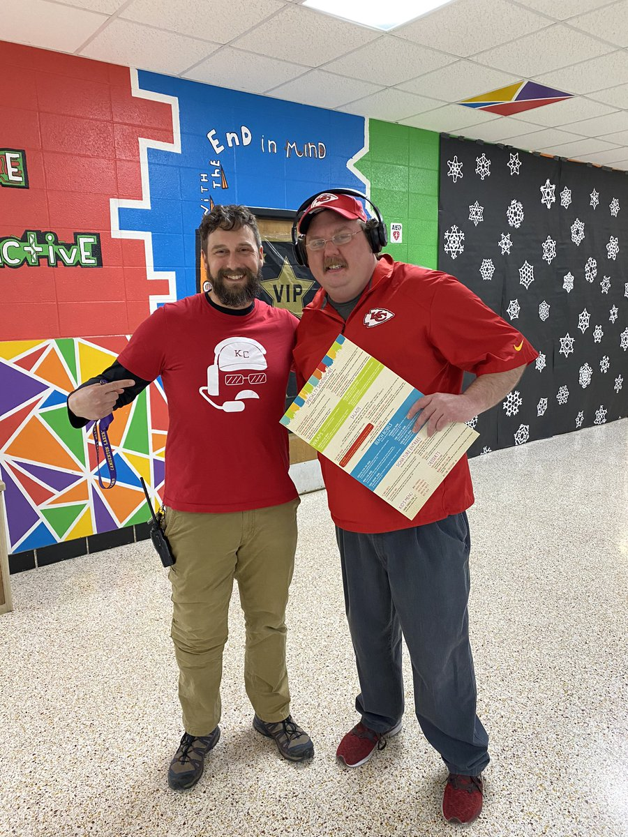 That moment Andy Reid visits our school! @cmslakers #ChiefsKingdom #CMSLakers #twoweeksofandyreid
