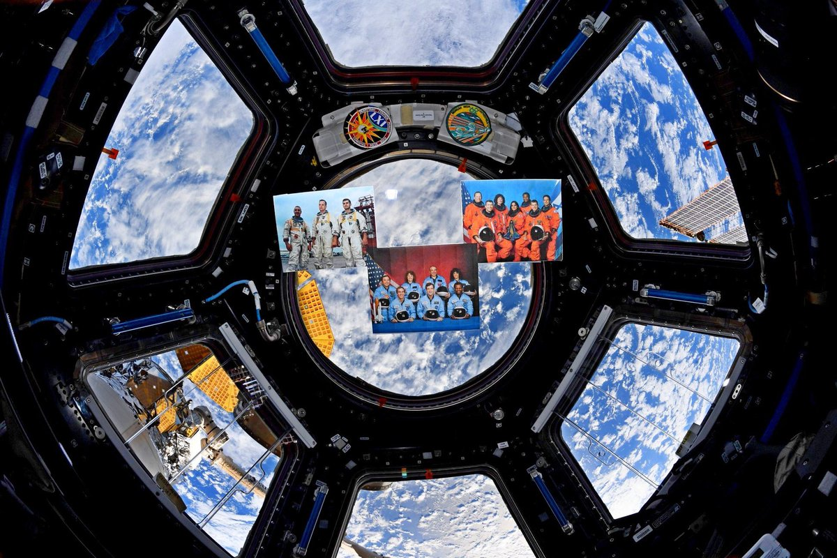 Great achievements in human spaceflight bring not only our greatest triumphs, but also our deepest sorrow. Today @NASA and the @Space_Station Expedition 61 crew remember the astronauts that gave their lives reaching for the stars. Ad astra, sisters and brothers. #NASARemembers