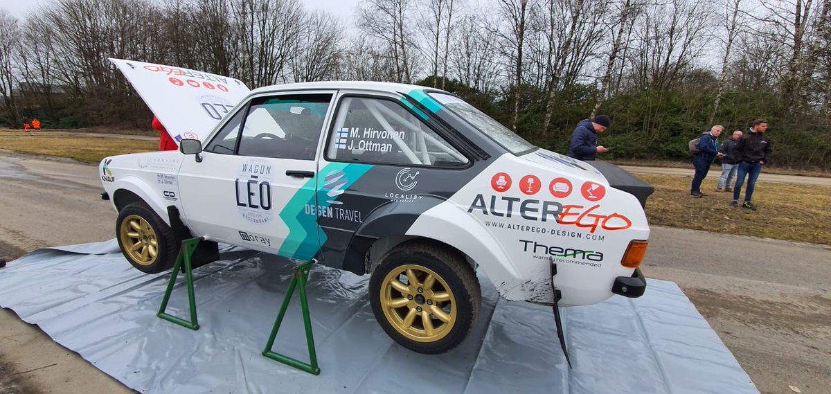 I'm happy to be in Bastogne again for the @LegendBouclesde ! Big thanks to the organizers for inviting us but also all our partners including my favorite restaurant Leo Wagon Station! Can't wait to be at the start with the amazing Escort Mk2. 🤩 https://t.co/xvaOmU44E4