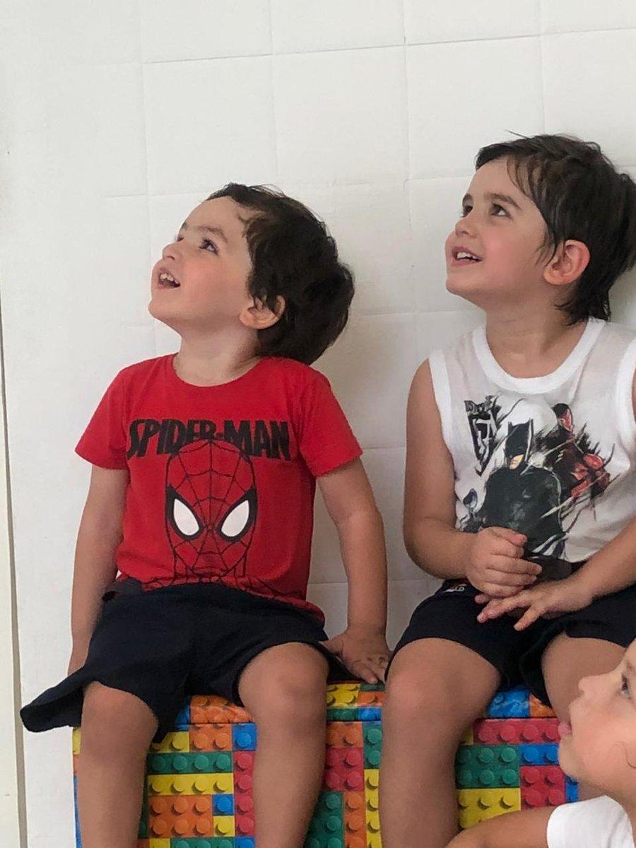 Amores da minha vida....#tioBabão #paiBabão