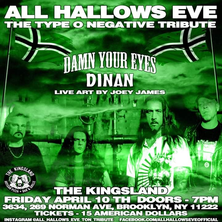 #allhallowseve #typeonegative #tribute in #brooklyn #newyork april 10 with joey james hernandez!pic.twitter.com/nvrtAketB3