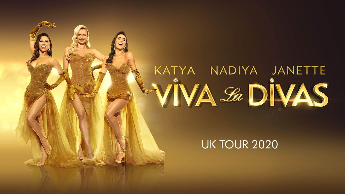Viva La Divas visits The Baths Hall on 25 June! Tickets on sale TOMORROW at 10am! Strictly Come Dancings Janette Manrara, Nadiya Bychkova and Katya Jones bring you a song and dance spectacular that celebrates what it is to be a diva. @JManrara @Mrs_katjones @NadiyaBychkova