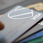 Image for the Tweet beginning: Visa $V sees sharp payments