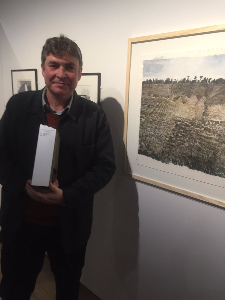So pleased Tom won the Ironstone prize @BanburyMuseum