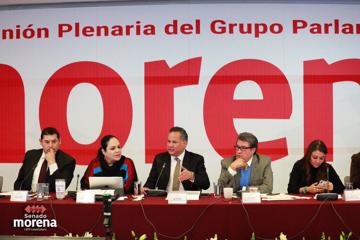 En la #PlenariaMorena2020 recibimos al titular de la Unidad de Inteligencia Financiera, @SNietoCastillo.