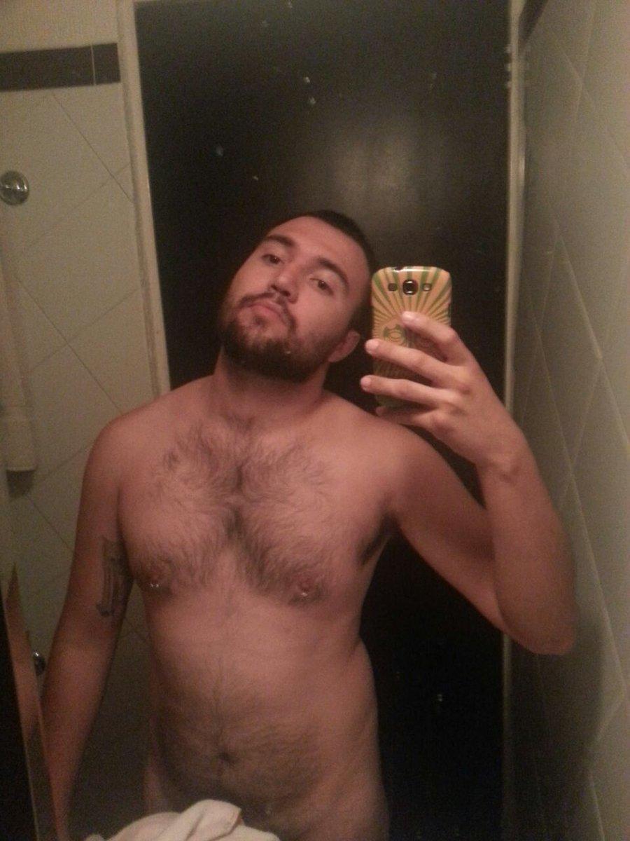 Hairy gay man