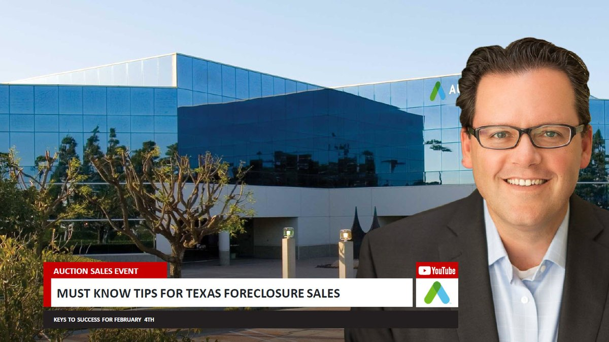 Tuesday Feb 4th Across #Texas is the 2nd big #Foreclosure sale of 2020 with 100s of homes @Auction #Dallas #Houston #SanAntonio #ElPaso #FortWorth View my Investor Briefing here: https://t.co/76AoFhgwVl or go straight to the Heat Map here: https://t.co/8GcPFvrwwG    #realestate https://t.co/21ewpza4Xn