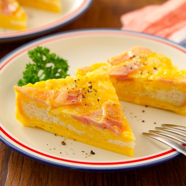 食パンで超簡単に「キッシュ」みたいなの作れます