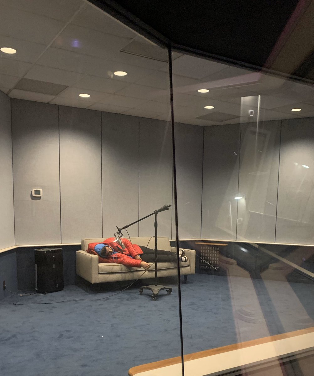 this how ima record in the studio from now on since yall wanna sleep on me