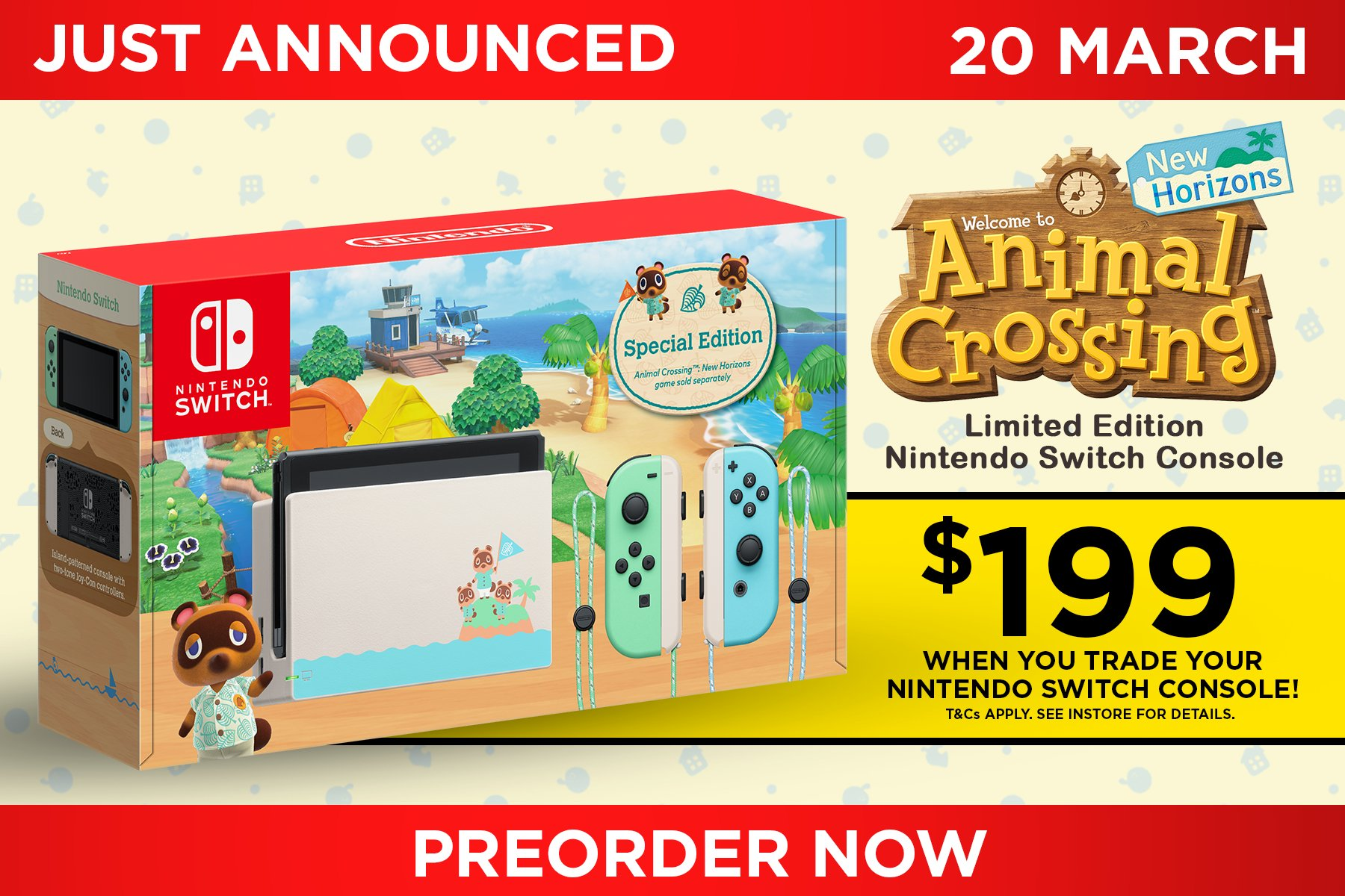 Eb Games Australia On Twitter Just Announced Animal Crossing