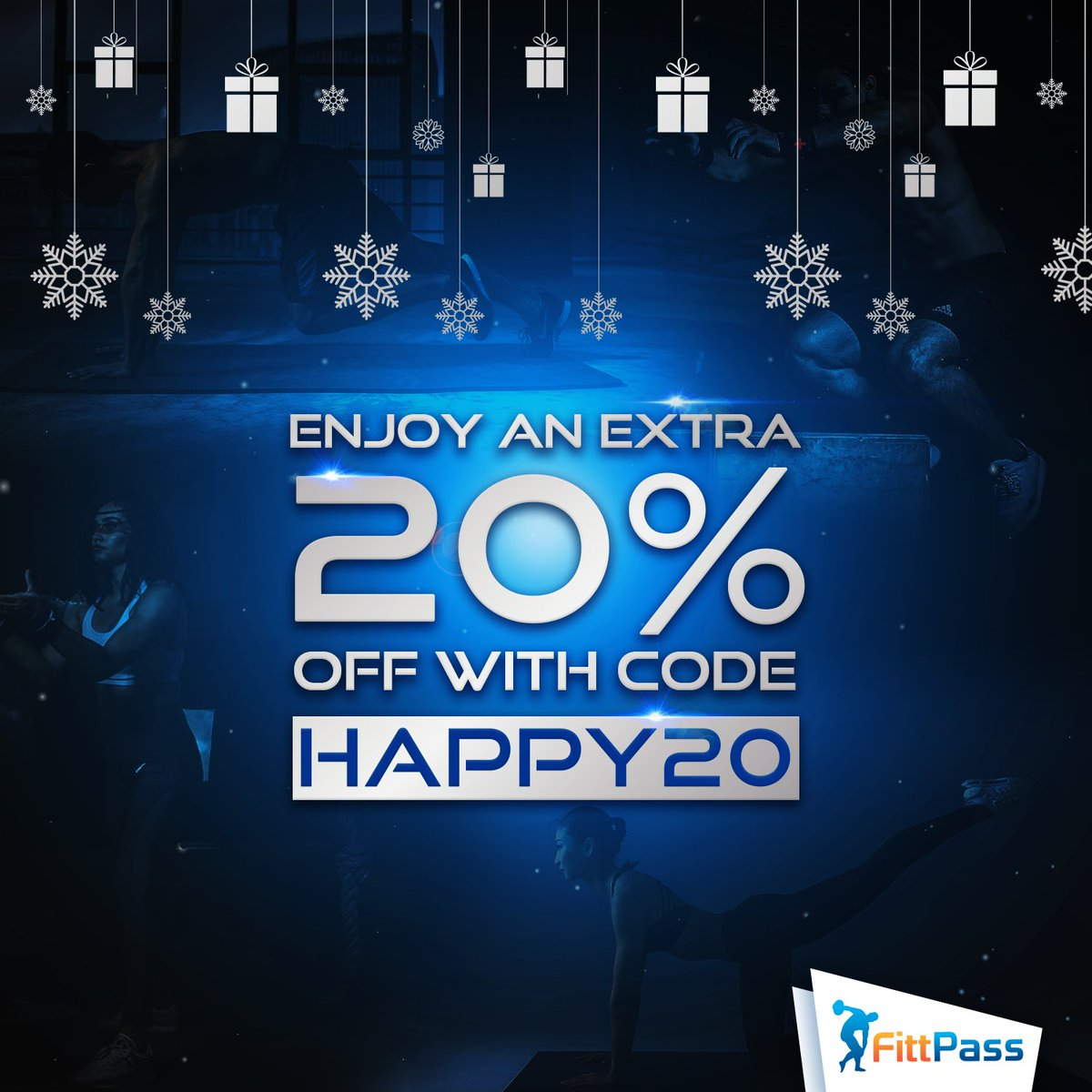 Can you believe January is almost over? Don't forget to save an extra 20% off on all passes and memberships with code: HAPPY20!   Remember you have one month to activate your pass so you can buy now and use later!  #FittPass #NewYearNewYou #Fitness2020 #NewYearGoals