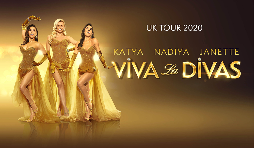 Dont forget, tickets for Viva La Divas at the Victoria Theatre on Tuesday 23 June go on sale at 11am this morning! Starring three of Strictly Come Dancing's most loved female dancers @JManrara @Mrs_katjones & @NadiyaBychkova Book your tickets at ow.ly/7HPn30qdzZY
