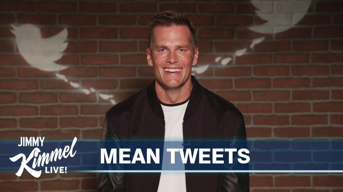 Watch Tom Brady read mean tweets about himself on 'Jimmy Kimmel Live!'