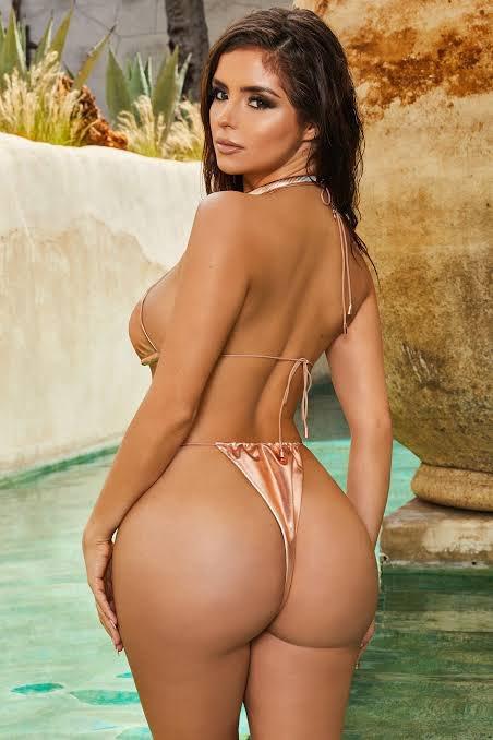 Demi Rose Borrowed Kardashian Butt In Ibiza Xxnx 1