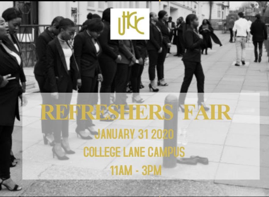 It's TODAY!  Can't wait to you guys there!  💛🙏🏾  #UGHC #universityofhertfordshire #uh #uhgospelchoir #freshersfair #refreshersfair #universitychoir #studentunion #hertfordshirestudents