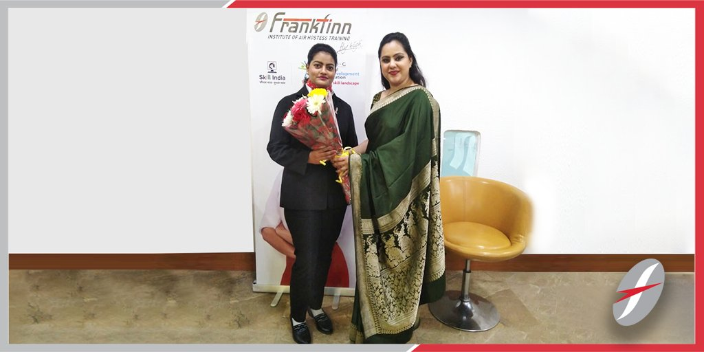 Frankfinn On Twitter The Key To Success Is To Focus On The Goals Not Obstacles Our Student Janvi From South Extension Centre Delhi Got Selected As A Ground Staff Frankfinn Flyhigh Southextension