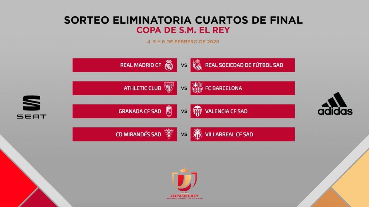 Quarts de finale Coupe du Roi