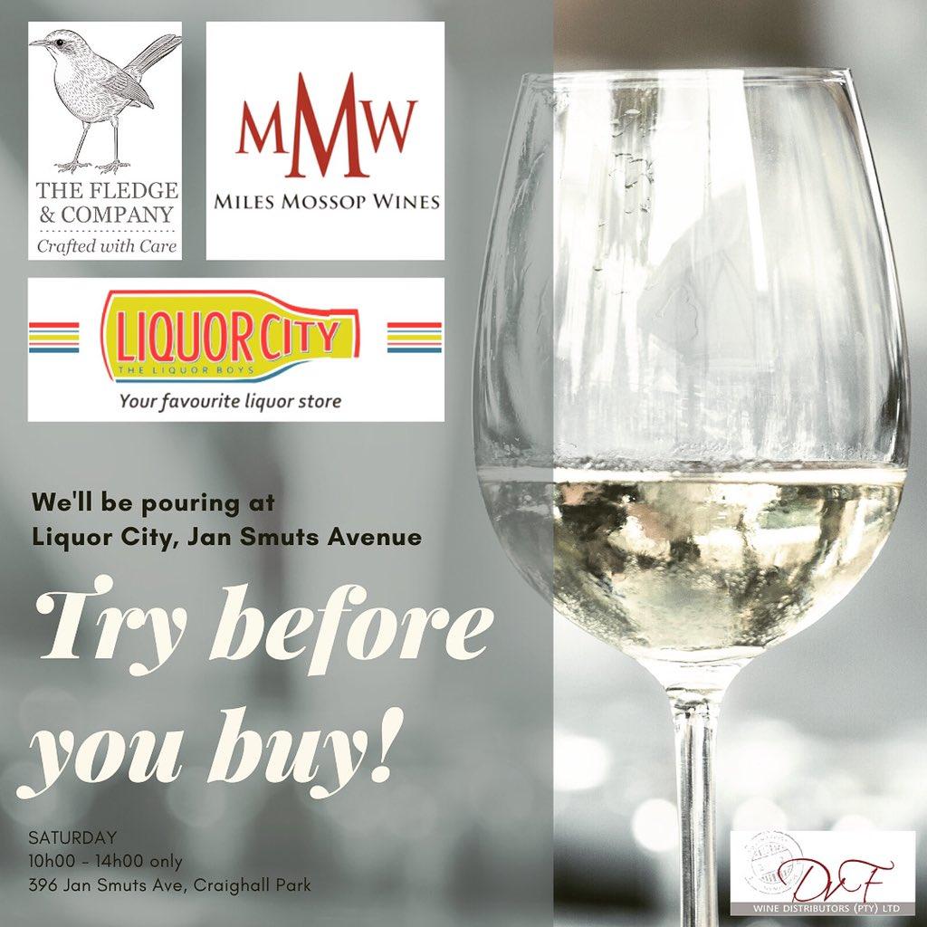 Calling all Jozi wine lovers... pop in to @liquorcity #Craighall #JanSmuts tomorrow to taste wines from  @MilesMossop @Coetzee_Leon #drinkbetterwine #SaturdayVibes #weekendwine<br>http://pic.twitter.com/Y83A2jOnzq