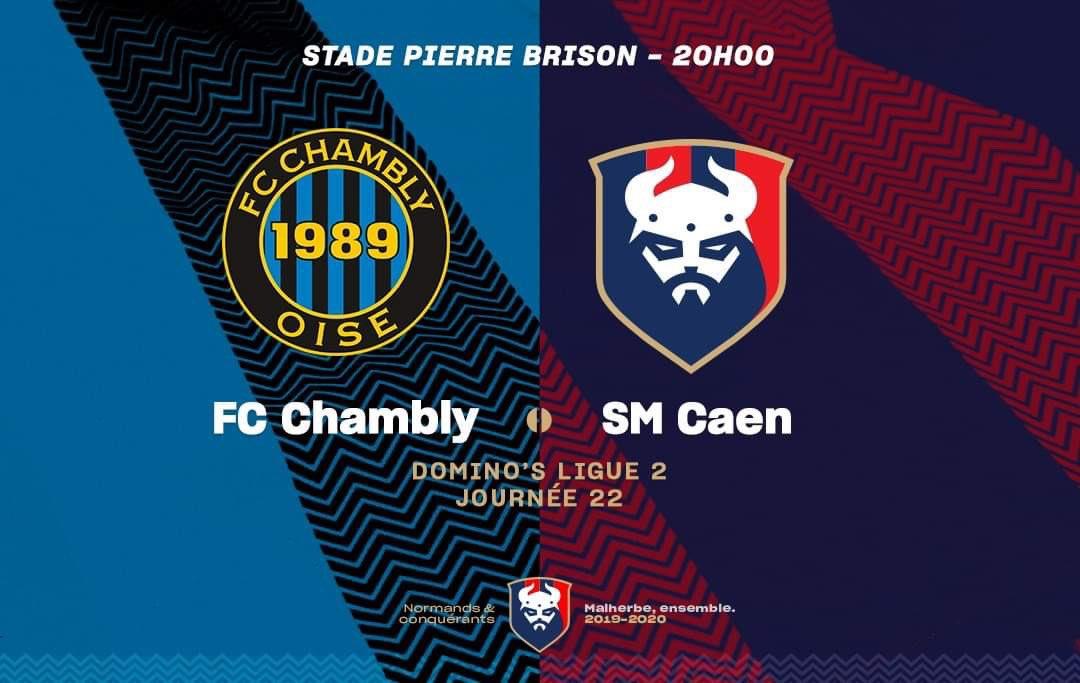 [22e journée de L2] FC Chambly 0-1 SM Caen EPmIgS4X4AEdRJR
