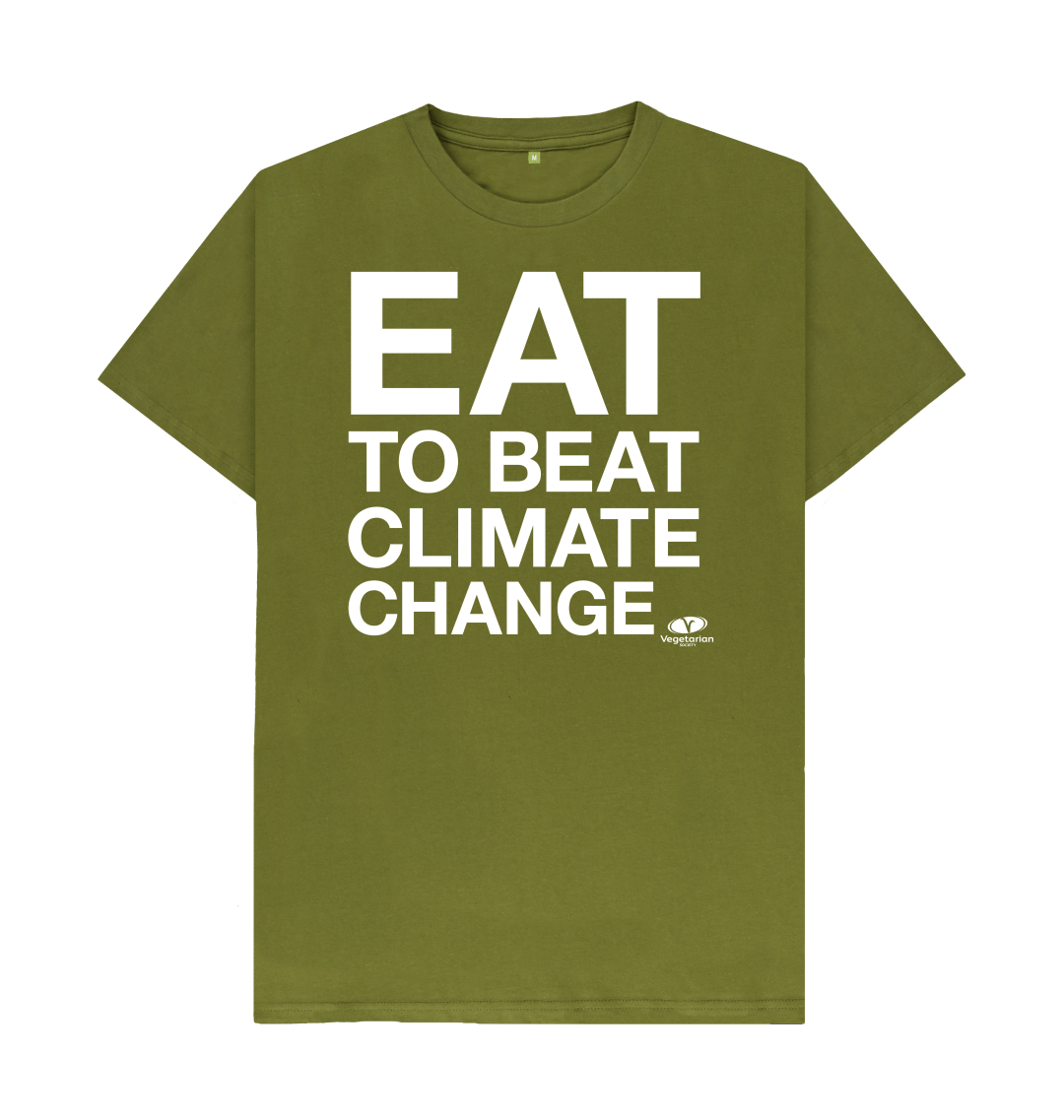 Exciting news! There's free postage all weekend on our #EatToBeatClimateChange t-shirts. Buy yours here: