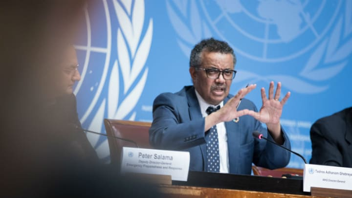 """""""This is the time for facts, not fear.This is the time for science, not rumors.This is the time for solidarity, not stigma.We are all in this together.""""@DrTedros of @who declares a public health emergency of international concern over #coronavirus.https://who.int"""