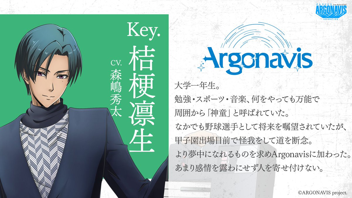 アルゴ ナビス アニメ