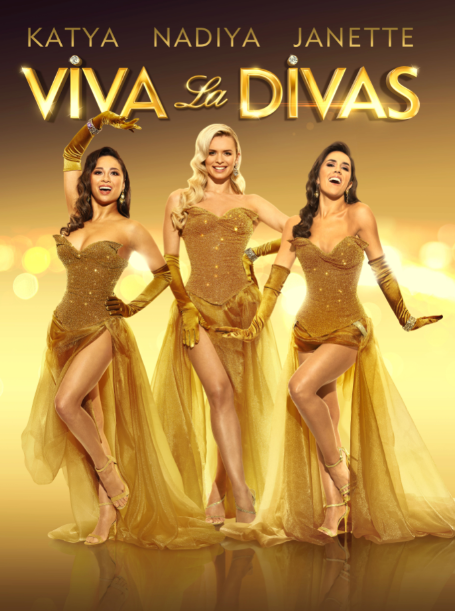 **ON SALE NOW** Viva La Divas! Strictly Come Dancing's @JManrara @NadiyaBychkova & @Mrs_katjones have come together to bring you a brand-new song and dance spectacular that celebrates what it is to be a diva. Friday 19 June 7.30pm 🎟 bit.ly/2tTbbnl / 029 2087 8444
