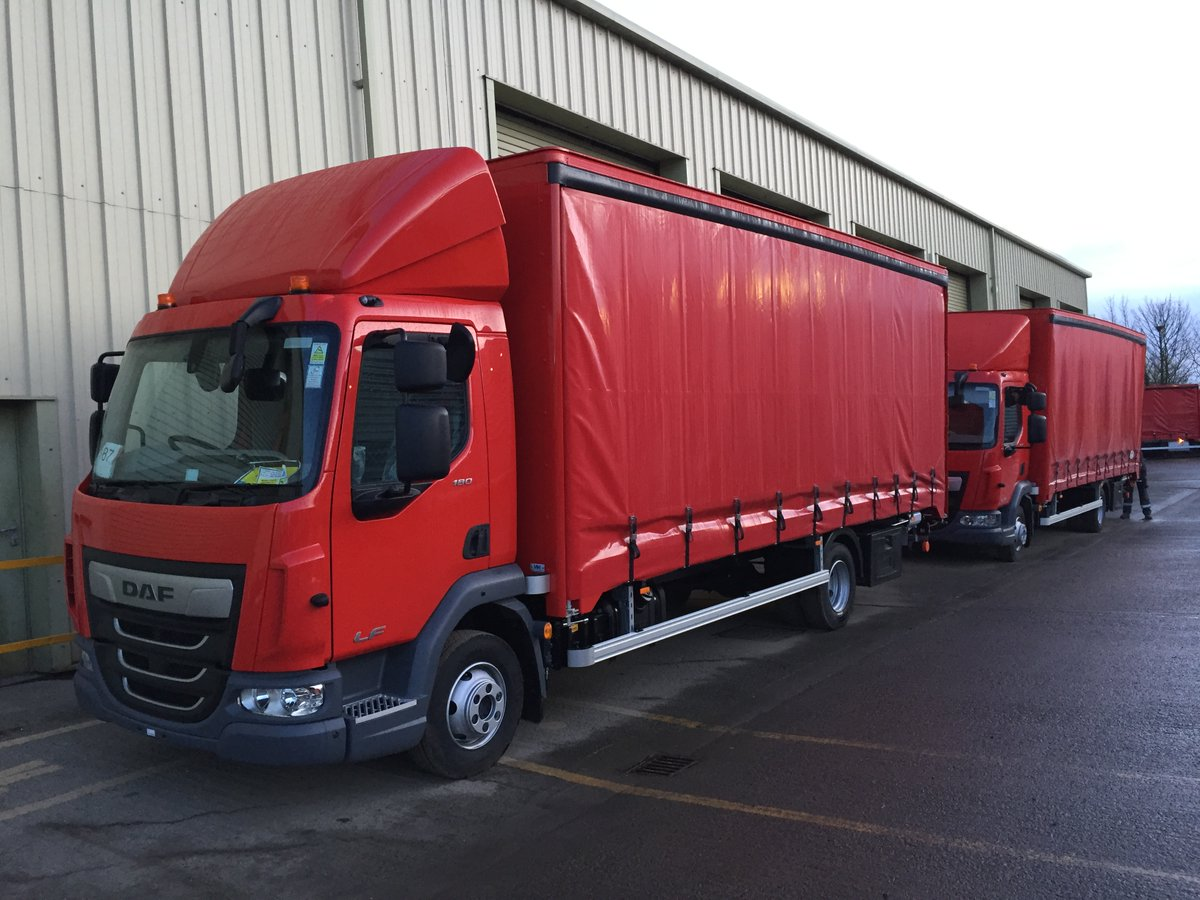 test Twitter Media - 7.5t DAF Aluminium Curtain side with Dhollandia Tuck away tail lift.  Roof mounted load restraint system supplied at Octo Cargo Control.  4 camera Recording System with BBS Reverse Alarm and Cycle Detection system fitted by @SMUK2012   With thanks to Wolseley & @LancashireDaf https://t.co/NWXyBCkNwx