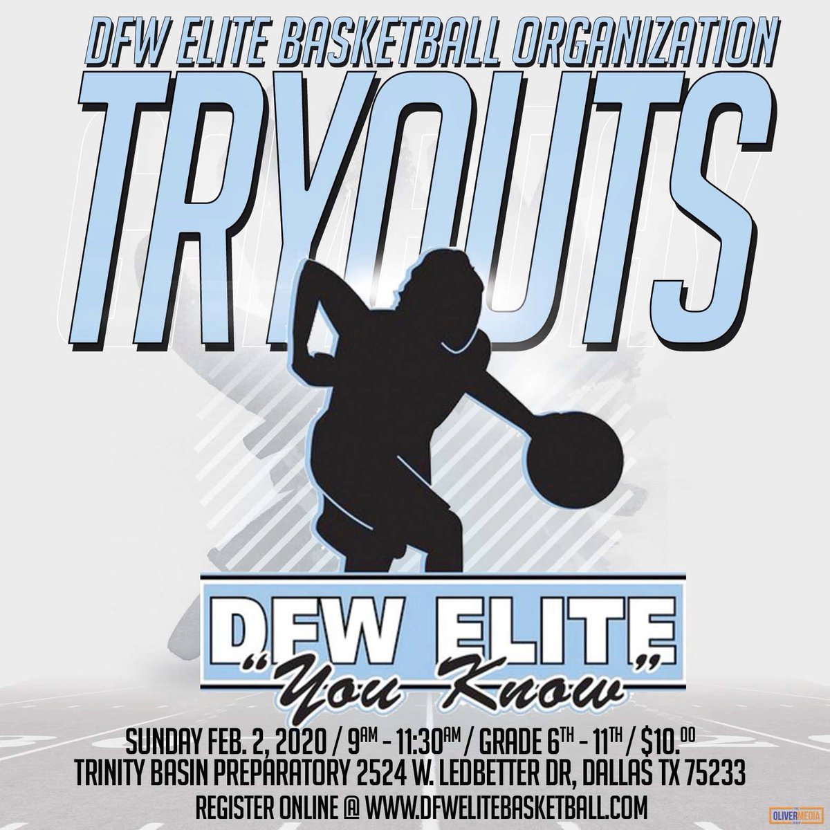 Tryouts this Sunday morning 6th-11th grades Registers online https://t.co/Bkvc3YusPh $10 https://t.co/4DFqjsUvBK