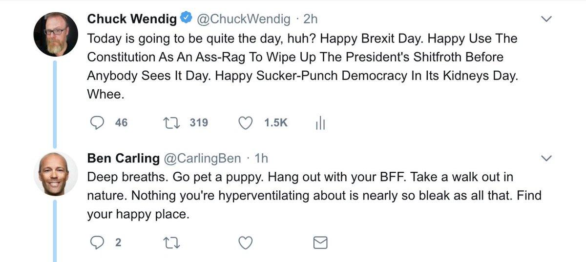 Chuck Wendig on Twitter.