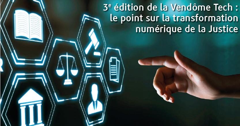 3e édition de la Vendôme Tech : le point sur la transformation numérique de la #JusticeForChima #VendomeTech #numerique @justice_gouv @NBelloubet  https://t.co/a78GL220P0