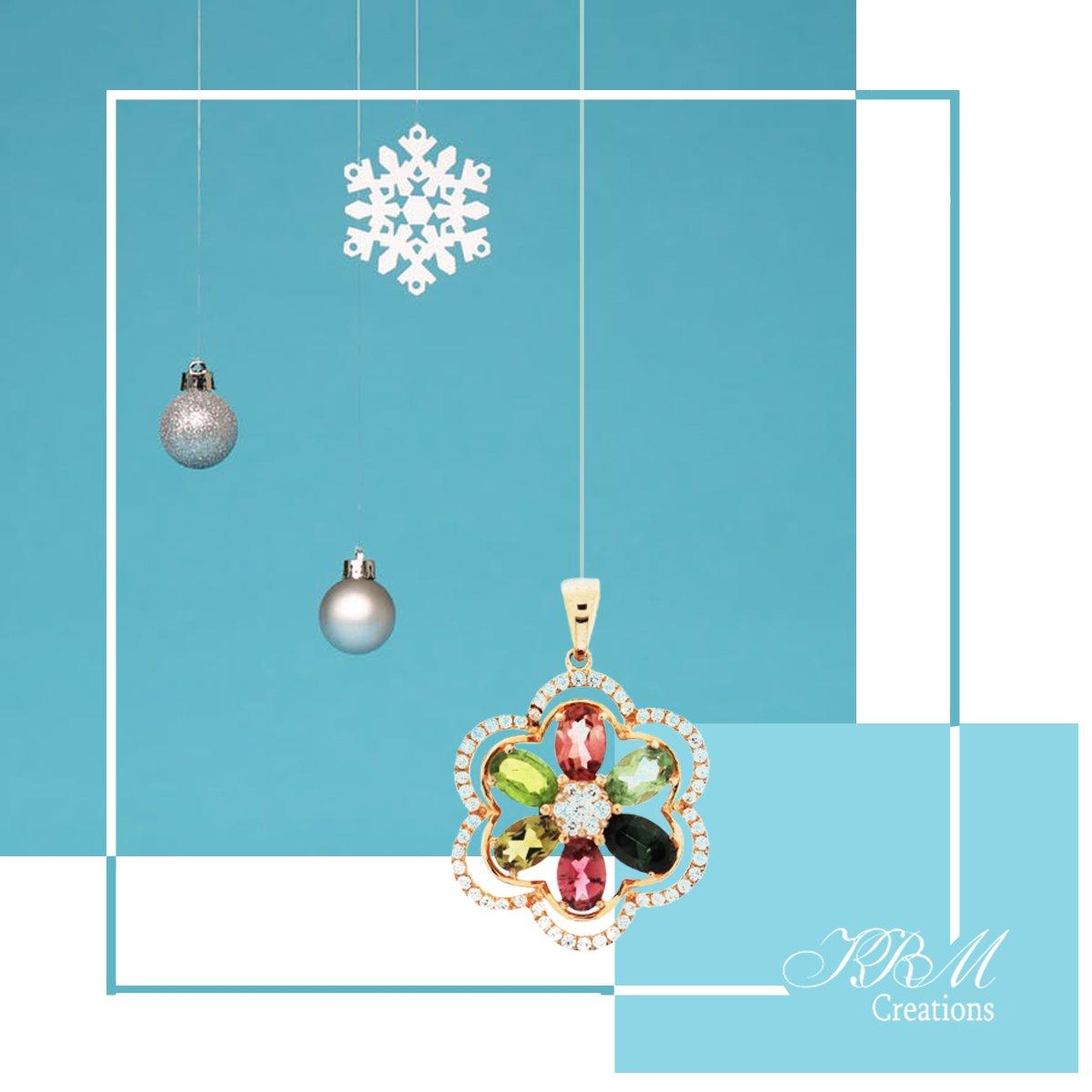 #color #tourmaline #multicolortourmaline #pendant #gold #jewelry #jewels …