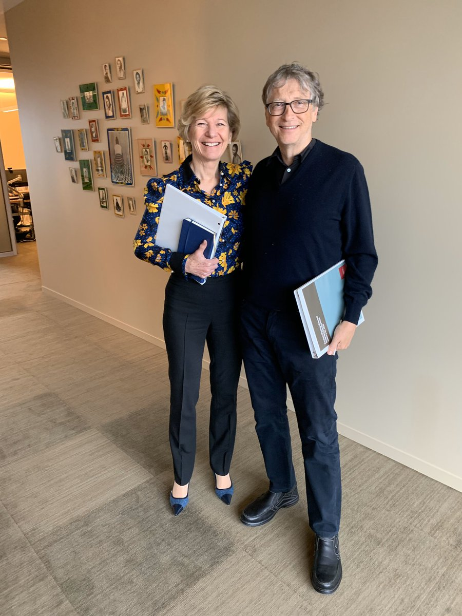 📸 Before our last @gatesfoundation strategy review together. Thank you for this opportunity, @BillGates & @MelindaGates.