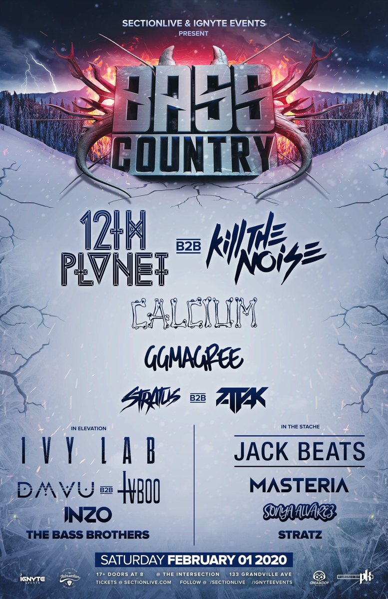 BASS COUNTRY GIVEAWAY!! 🅱️  RT for a chance to win two tickets to the show!  Ending this tomorrow at 5!! https://t.co/oXfpXMvAIl