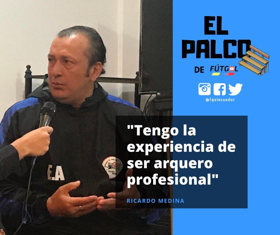 ¡#ElPalco 🎞📺!  Mañana llegará el segundo episodio del #PalcodeFútGol 🎥⚽️ con #RicardoMedina 🧤, ex futbolista de #ElNacional y parte del cuerpo técnico del último #DeportivoQuito 🔴🔵 de #SerieA.  ¡Espéralo ⏳!