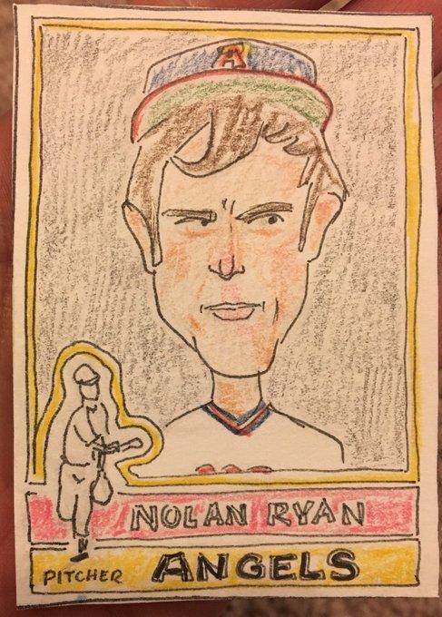 Happy Birthday Nolan Ryan. He can still throw faster than you.