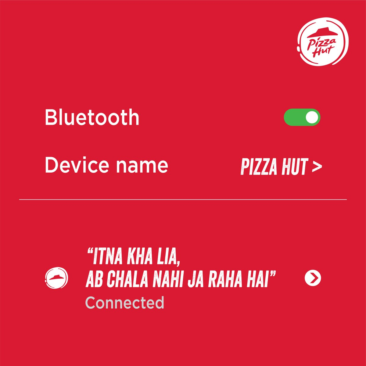Im so full, I cant eat anymore. Oh, look pizzaaaaaa ConnectedTo PizzaHutIndia https t.co tmh3AUoQNV