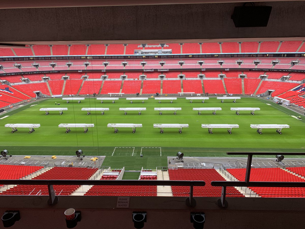 What an amazing venue for a team strategy day! @wembleystadium #Strategy #awayday