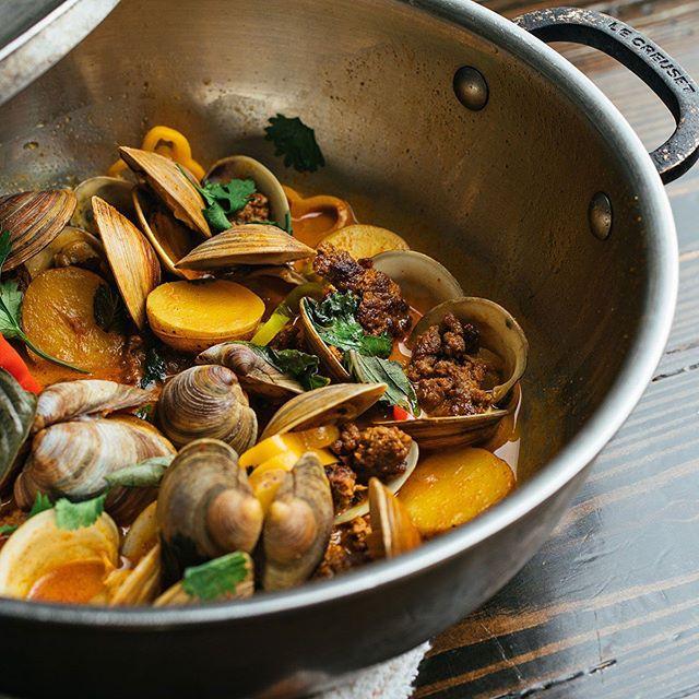 Those clams! 🍥