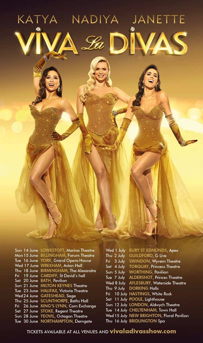 Tickets for VIVA la DIVAS are on full sale now!!! Reaction to the pre-sale has been incredible! Thank you so much! We can't wait to get together and bring this show to the theatre next to you !!! Link in my bio!