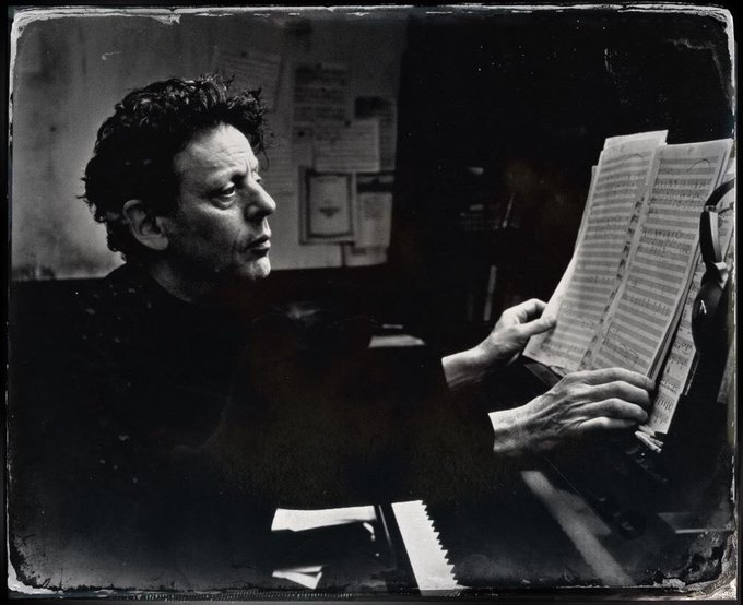 Happy 80th Birthday to Philip Glass*  *Taxi Driver. Removal Man. World-Famous Composer.
