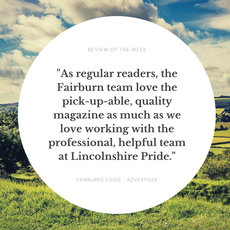 We thought we'd share some of the fantastic feedback we receive on our magazine - we take great 'Pride' in it! #lincolnshirepride  <br>http://pic.twitter.com/xaHBXENkfV