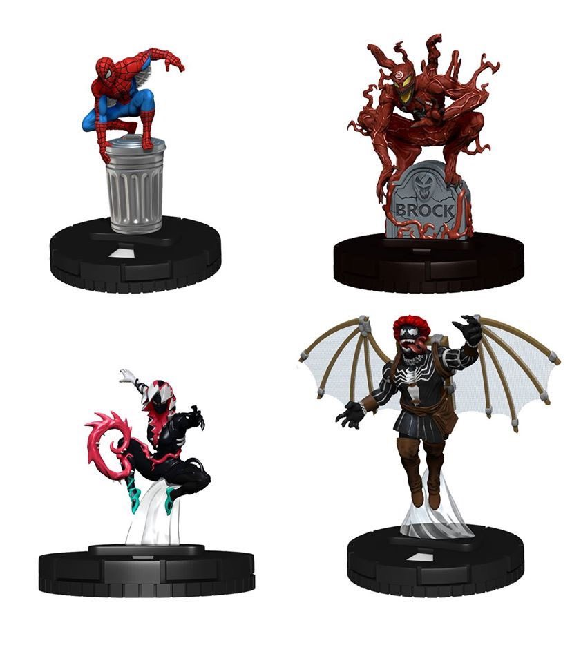 Knull #052 Spider-man and Venom Absolute Carnage Heroclix Near Mint
