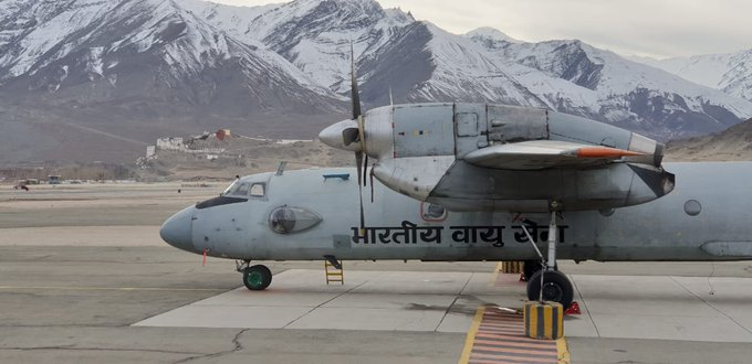 AN-32 aircraft