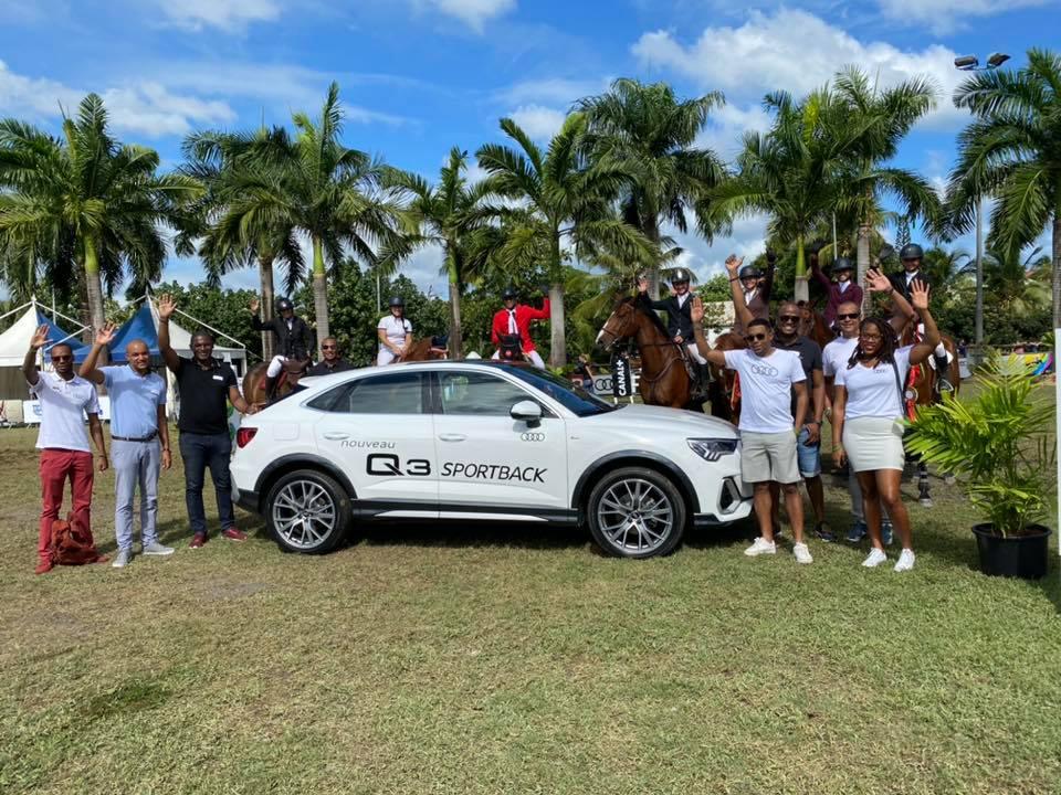 Ce fût un plaisir d'être partenaire du #DSO2020. Félicitations à Flore BARACCHINI, la grande championne du prix #AUDI #Guadeloupe https://t.co/ohlVCDpLZm